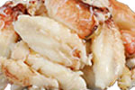 Six Dungeness Crab Leg Meat