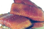 SMOKED Wild Chinook Salmon