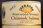 SMOKED Wild Chinook Salmon, 6 or 12 cans
