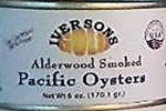 SMOKED Pacific Premium Oysters, 6 or 12 cans